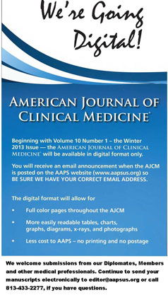 American Journal of Clinical Medicine